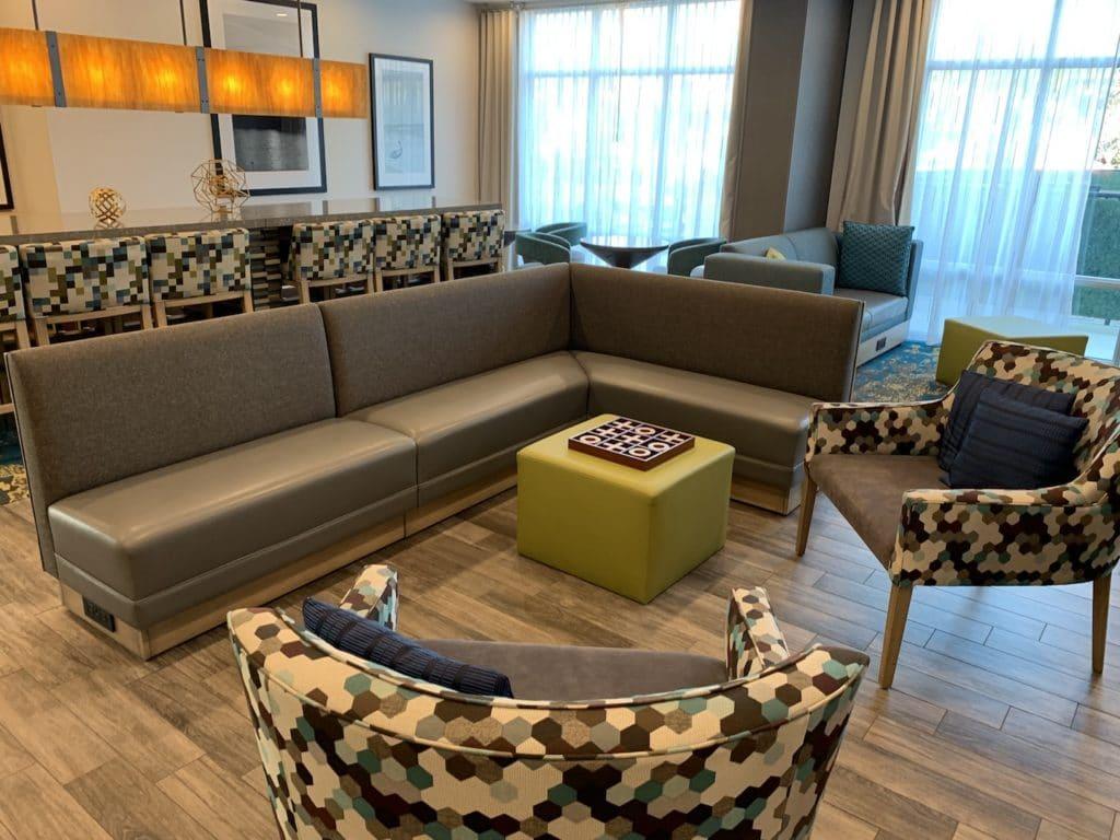 Hampton Inn Miami Airport Lobby Sitzbereich 1