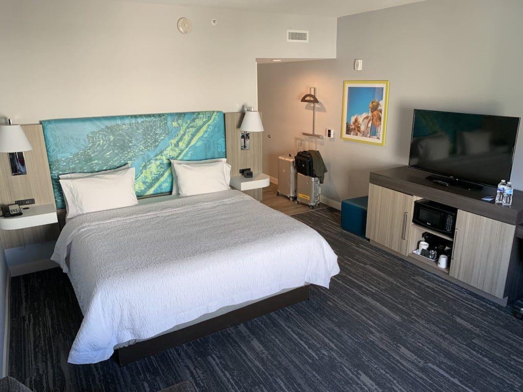 Hampton Inn Miami Airport Zimmer Bett 2