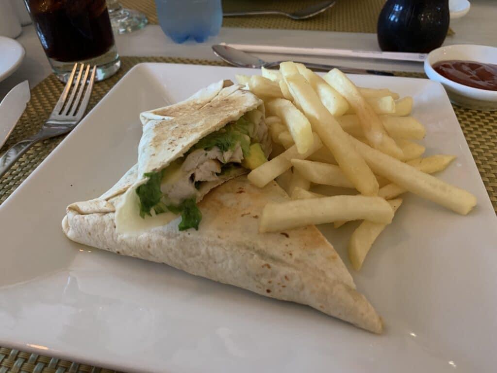 Hilton Garden Inn Santa Marta Restaurant Essen