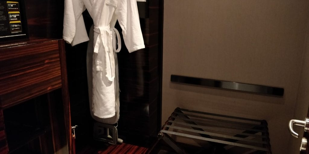 Hilton Shanghai Hongqiao Ankleidezimmer