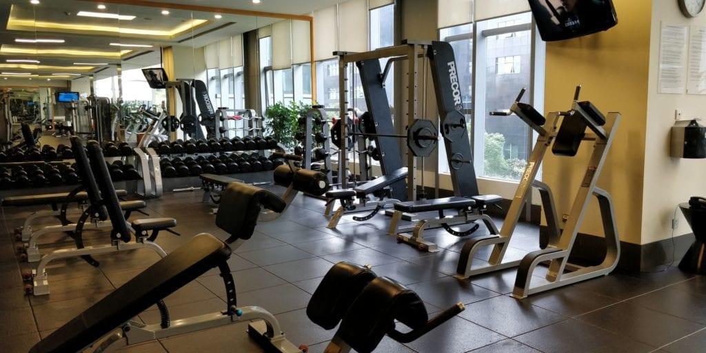 Hilton Shanghai Hongqiao Fitness 2