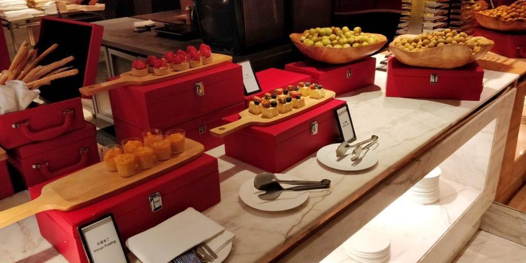 Hilton Shanghai Hongqiao Lounge Abendessen