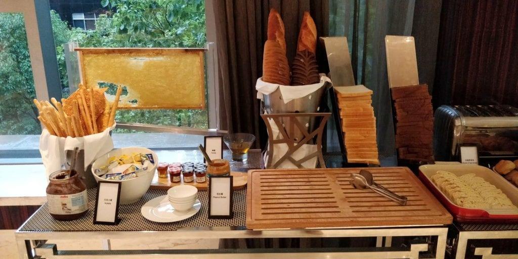 Hilton Shanghai Hongqiao Lounge Frühstück 5