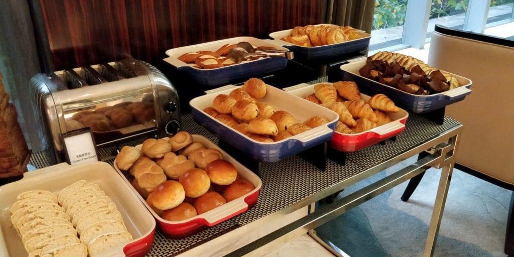 Hilton Shanghai Hongqiao Lounge Frühstück 6