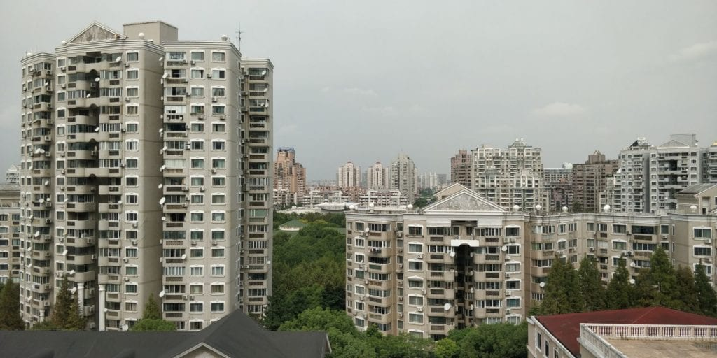 Hilton Shanghai Hongqiao Zimmer Ausblick