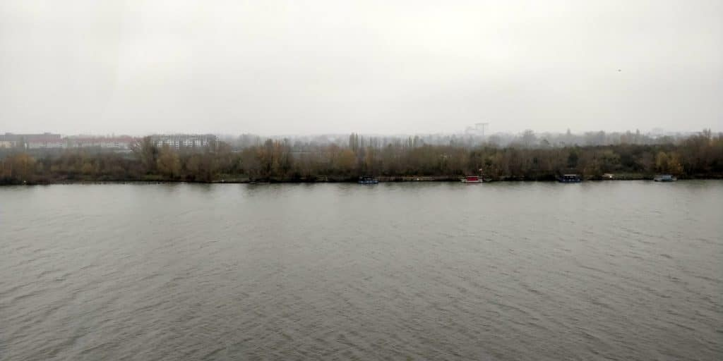Hilton Wien Danube Waterfront Ausblick