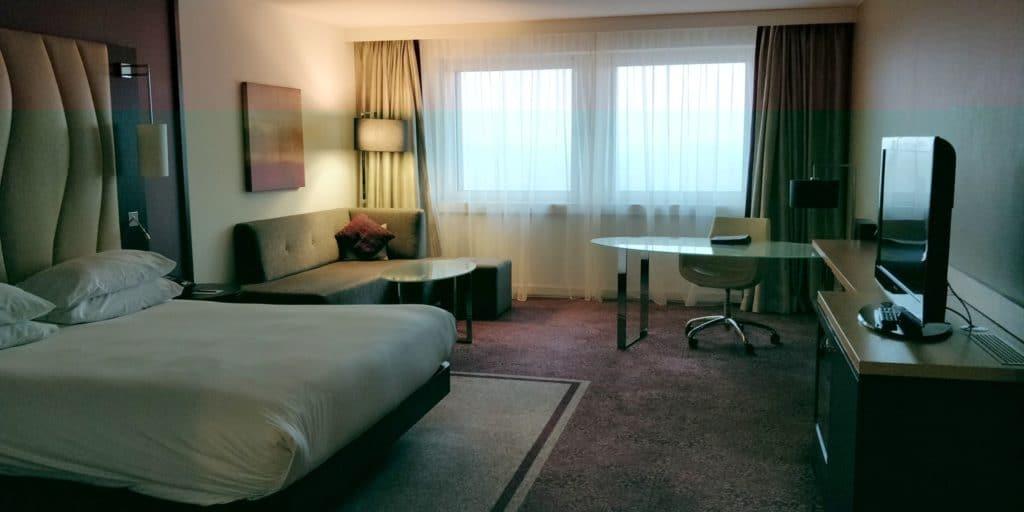 Hilton Wien Danube Waterfront Zimmer