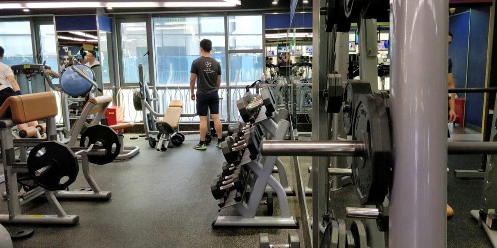 Holiday Inn Shanghai Pudong Nanpu Fitness 2