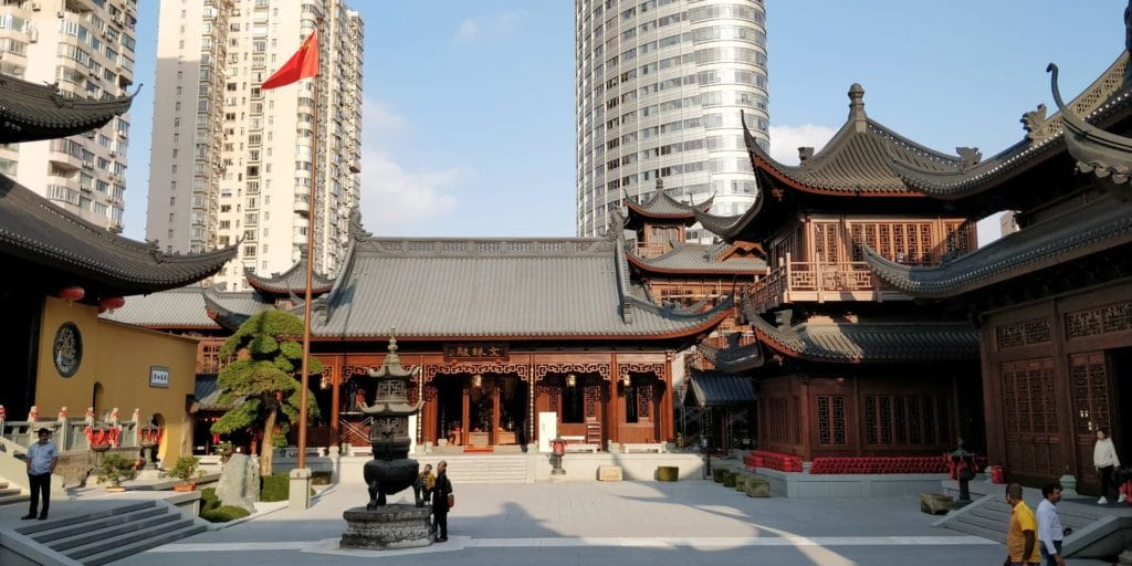 Jade Buddha Tempel Shanghai 3