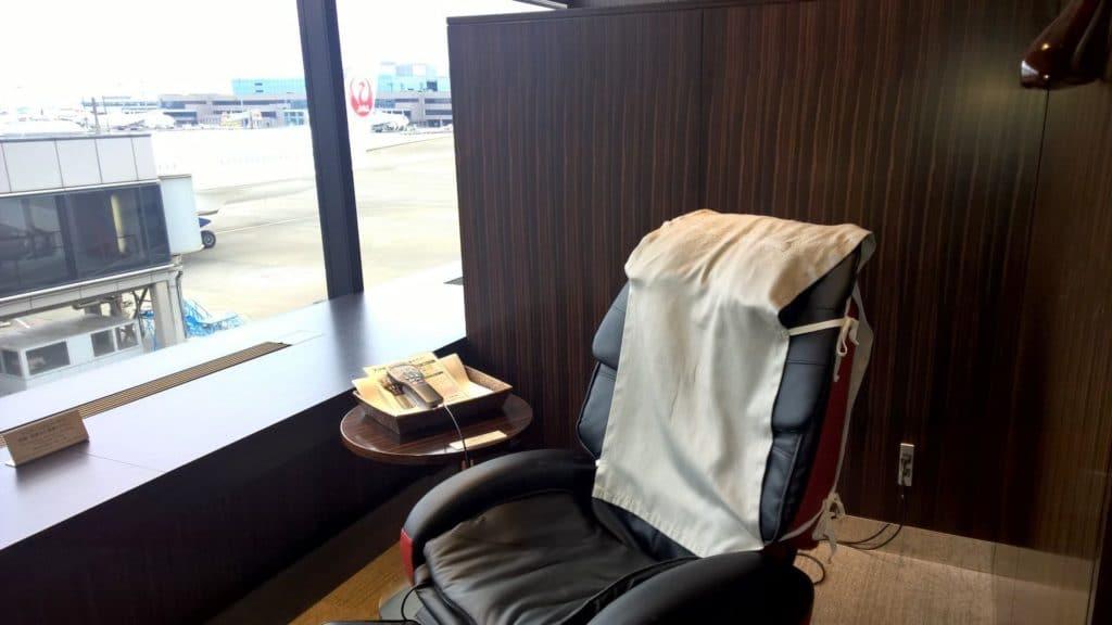 Japan Airlines First Class Lounge Tokio Narita Satellit 10