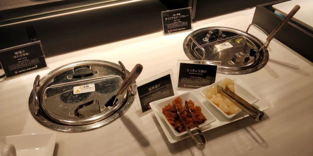 Japan Airlines First Class Lounge Tokio Narita Satellit Buffet 6