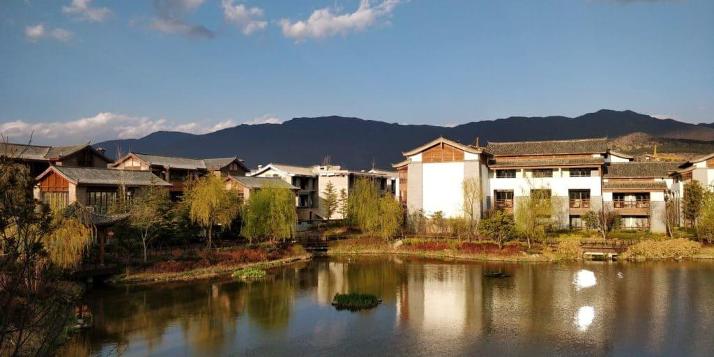 Jinmao Hotel Lijiang Unbound Hyatt Ausblick