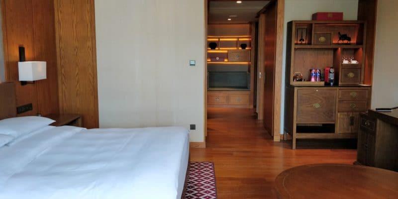 Jinmao Hotel Lijiang Unbound Hyatt Zimmer