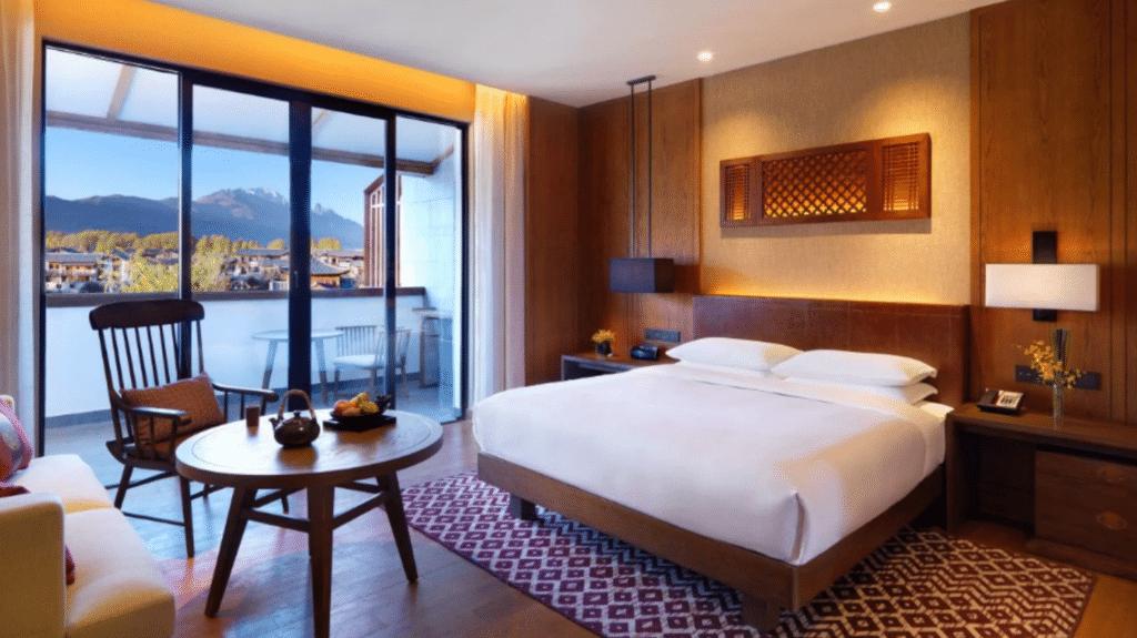 Jinmao Hotel Lijiang Webseite