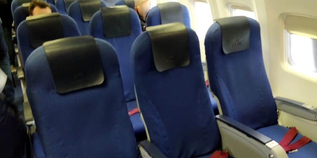 KLM Business Class Kurzstrecke Sitz