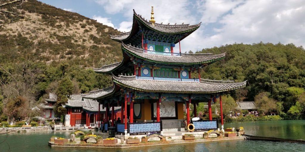 Lijiang Dragon Pool Lake