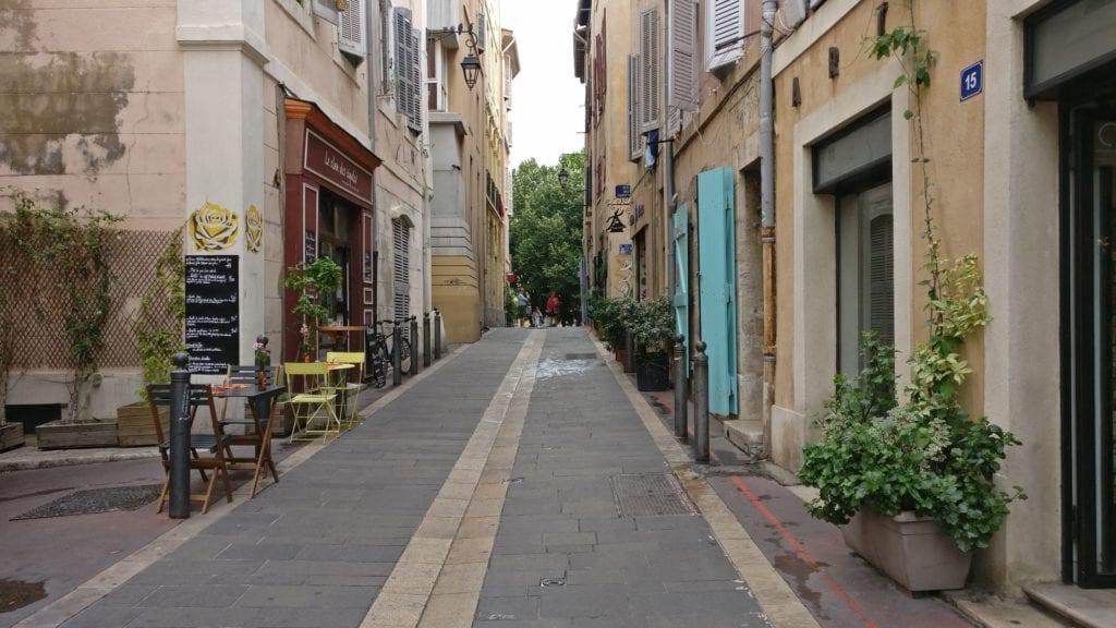 Marseille Altstadt