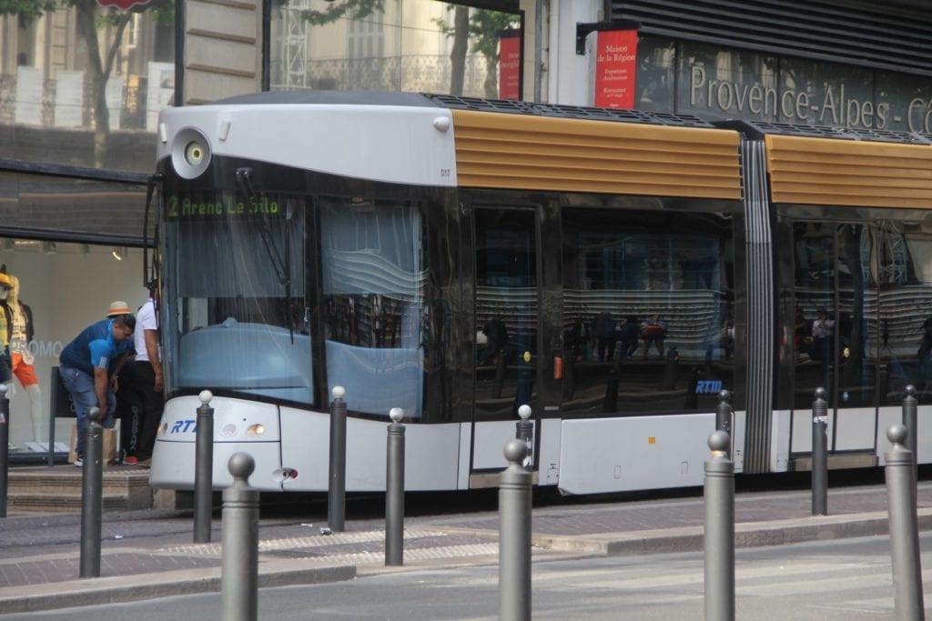 Marseille Straßebahn