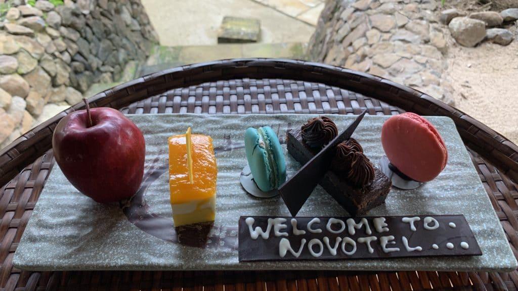 Novotel Lombok Willkommensgeschenk