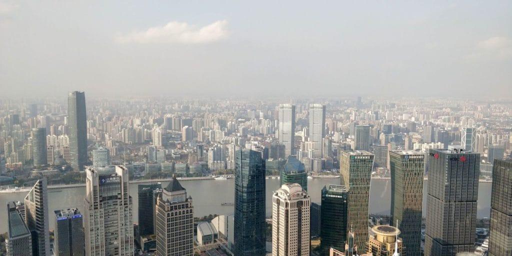 Park Hyatt Shanghai Ausblick