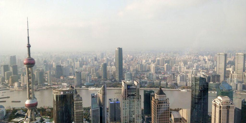 Park Hyatt Shanghai Ausblick 2