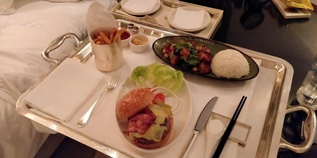 Park Hyatt Shanghai Room Service 2