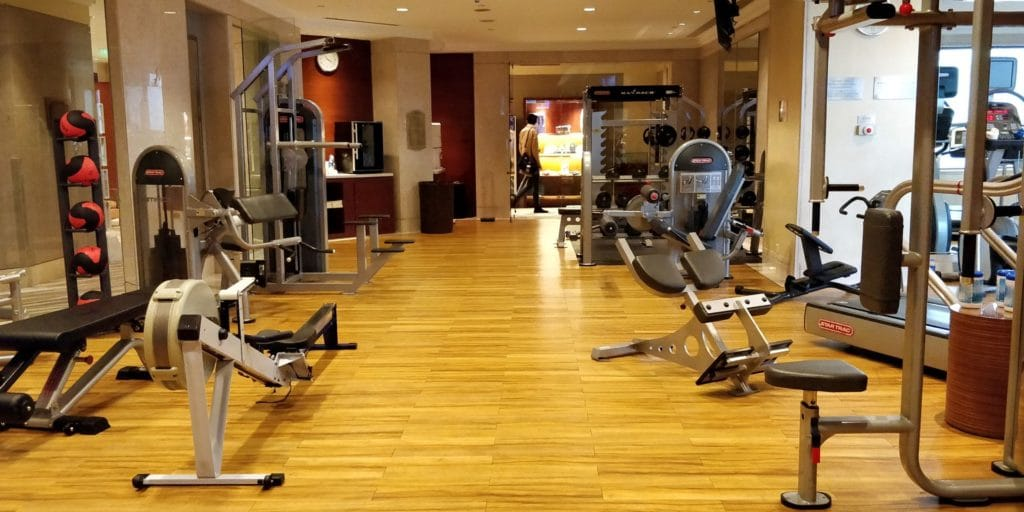 Pudong Shangri La Shanghai Fitness 2