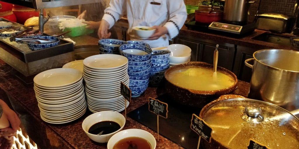 Pudong Shangri La Shanghai Frühstück 6