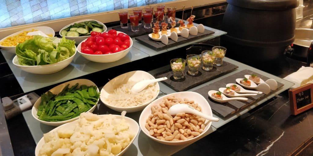 Pudong Shangri La Shanghai Lounge Abendessen 5