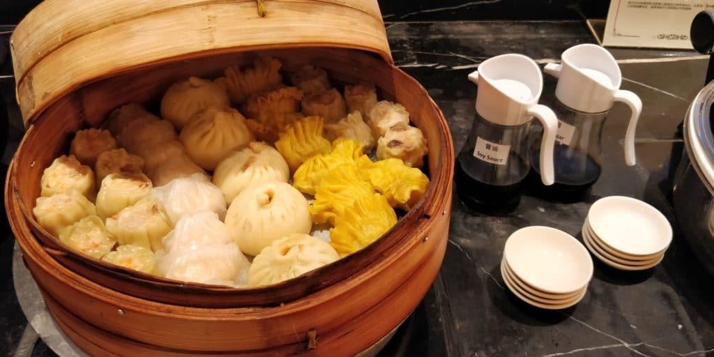 Pudong Shangri La Shanghai Lounge Abendessen 6