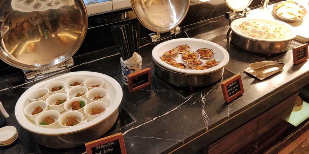 Pudong Shangri La Shanghai Lounge Abendessen 7