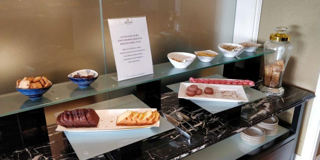 Pudong Shangri La Shanghai Lounge Afternoon Tea 3