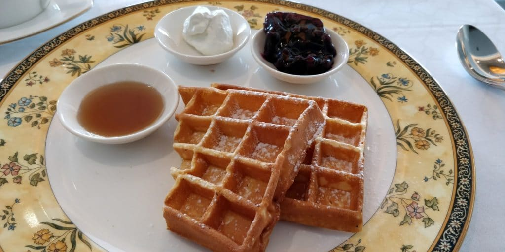 Pudong Shangri La Shanghai Lounge Frühstück 13