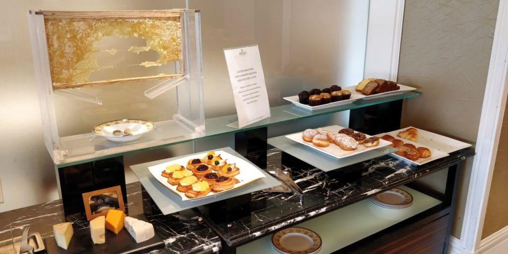 Pudong Shangri La Shanghai Lounge Frühstück 4
