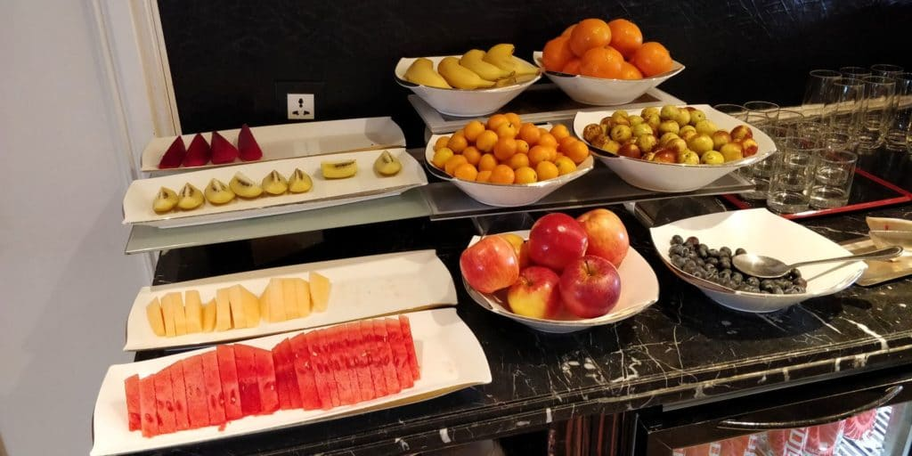 Pudong Shangri La Shanghai Lounge Frühstück 5