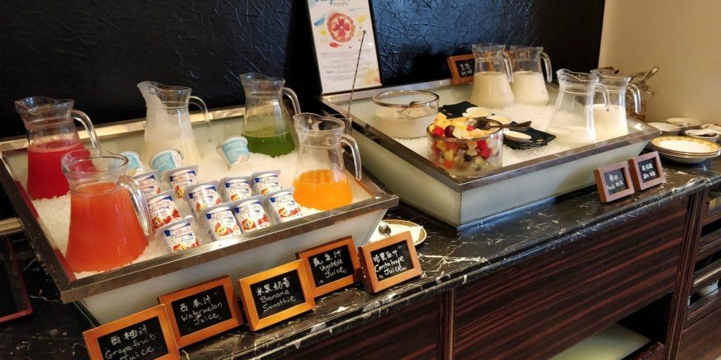 Pudong Shangri La Shanghai Lounge Frühstück 6