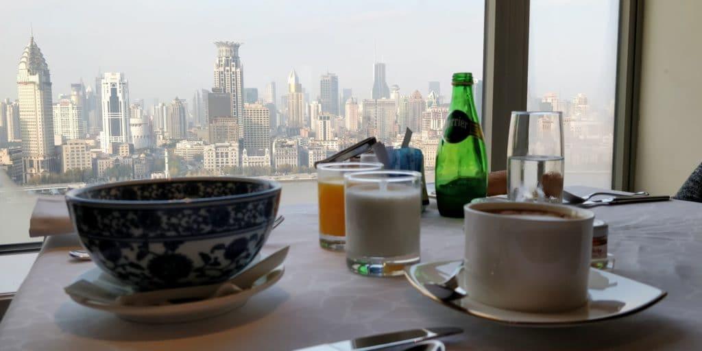 Pudong Shangri La Shanghai Lounge Frühstück 7