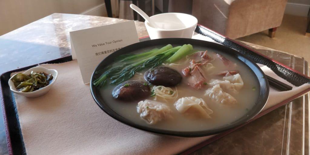 Pudong Shangri La Shanghai Room Service 4