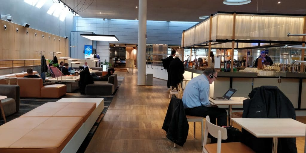 SAS Gold Lounge Kopenhagen