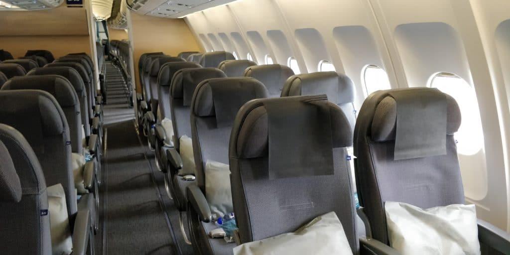 SAS Plus Premium Economy Class Kabine 4