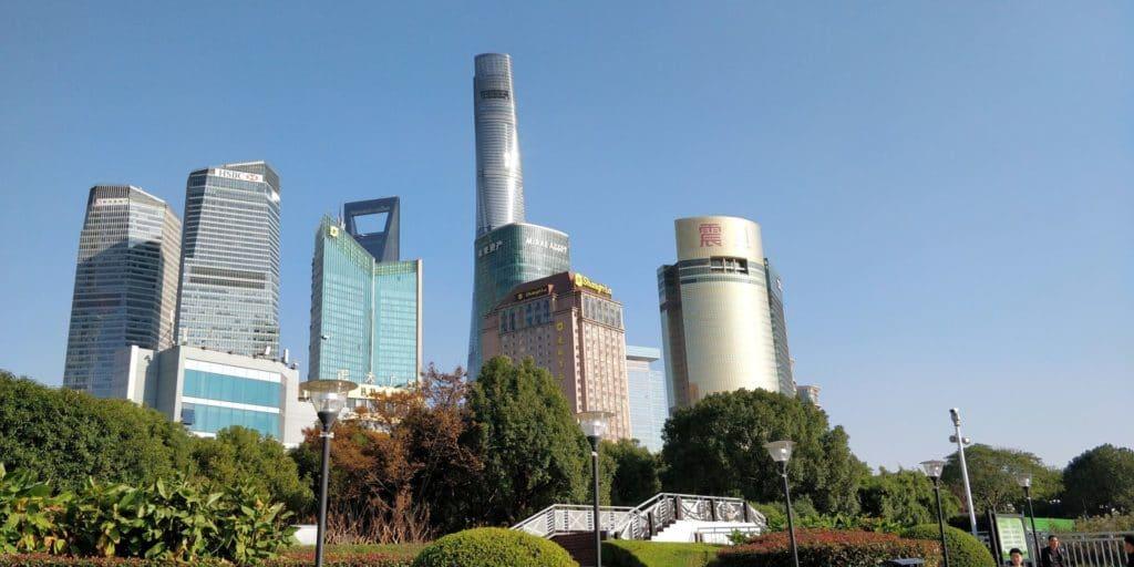 Shanghai Pudong Gebäude