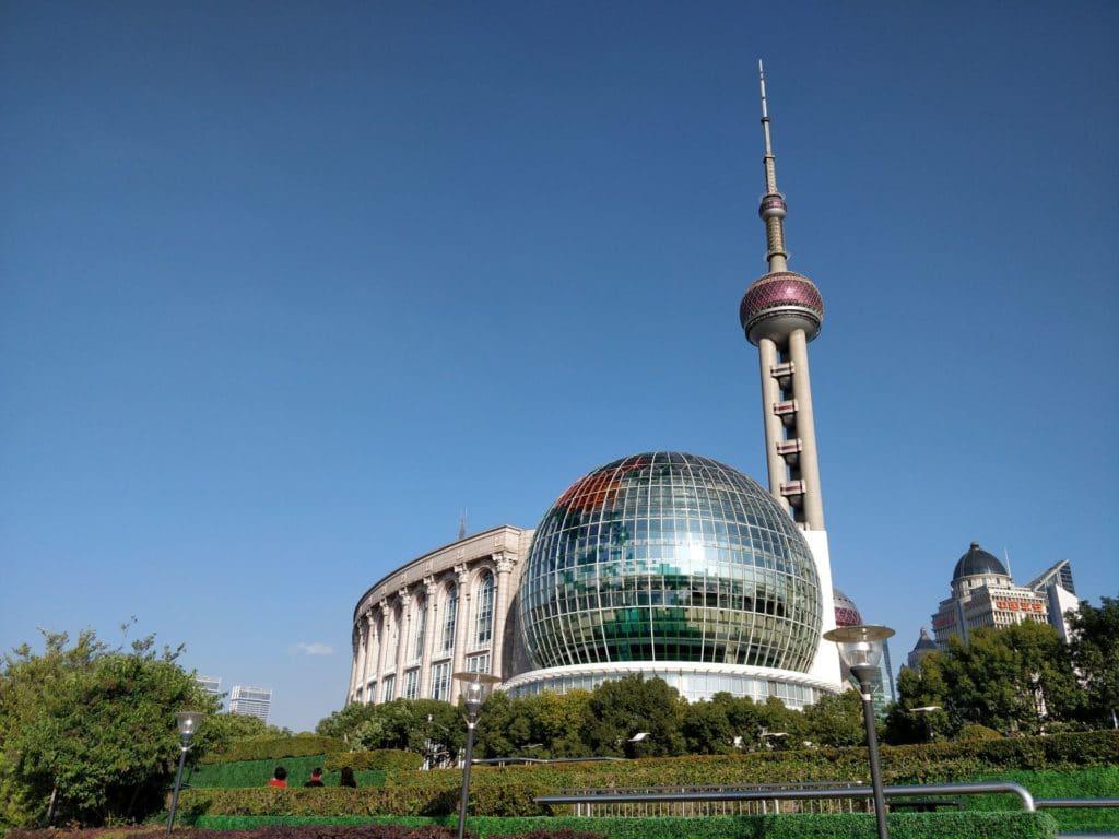 Shanghai Pudong Gebäude 2
