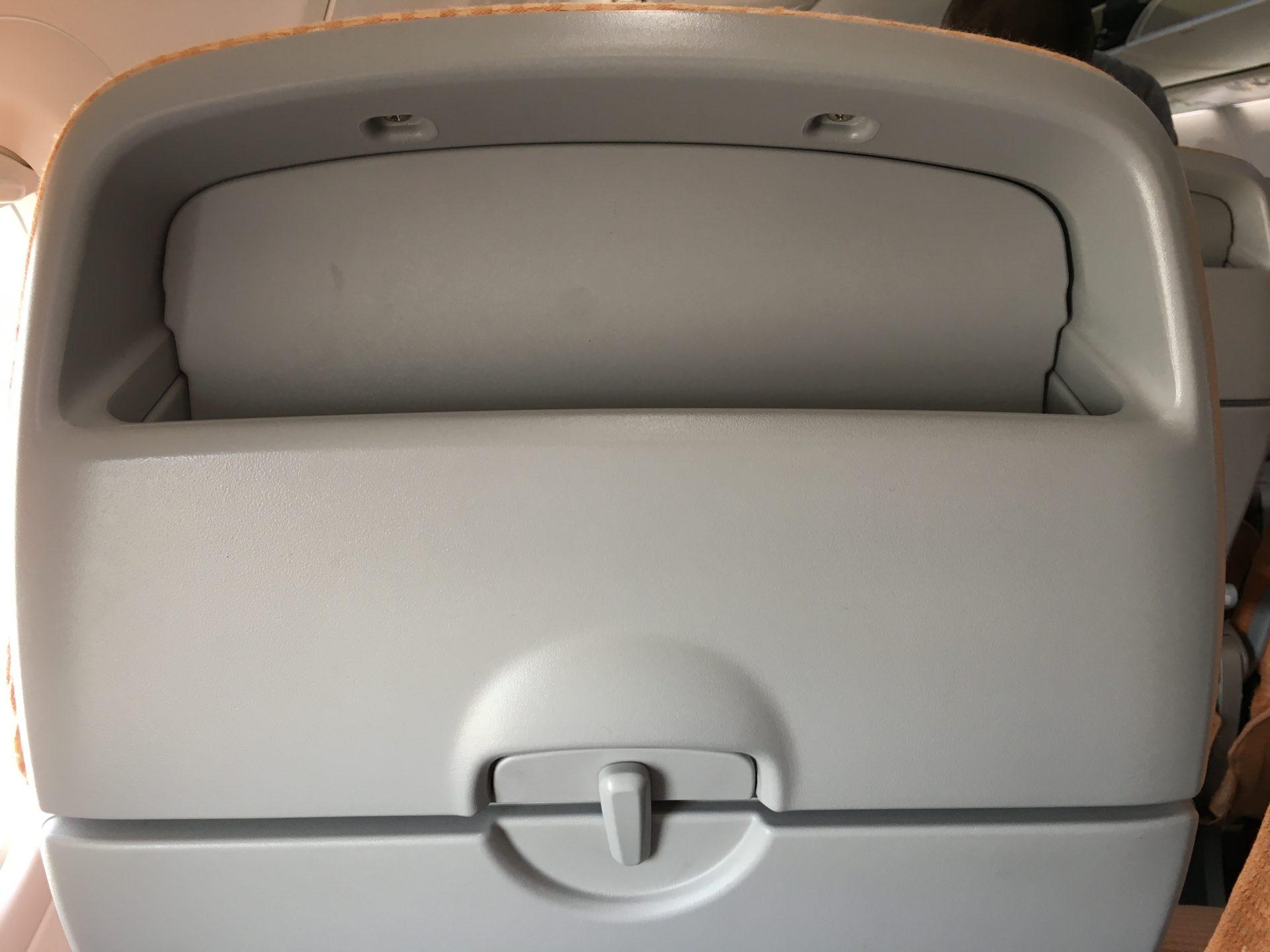 Silk Air Economy Class Kurzstrecke Sitz 3
