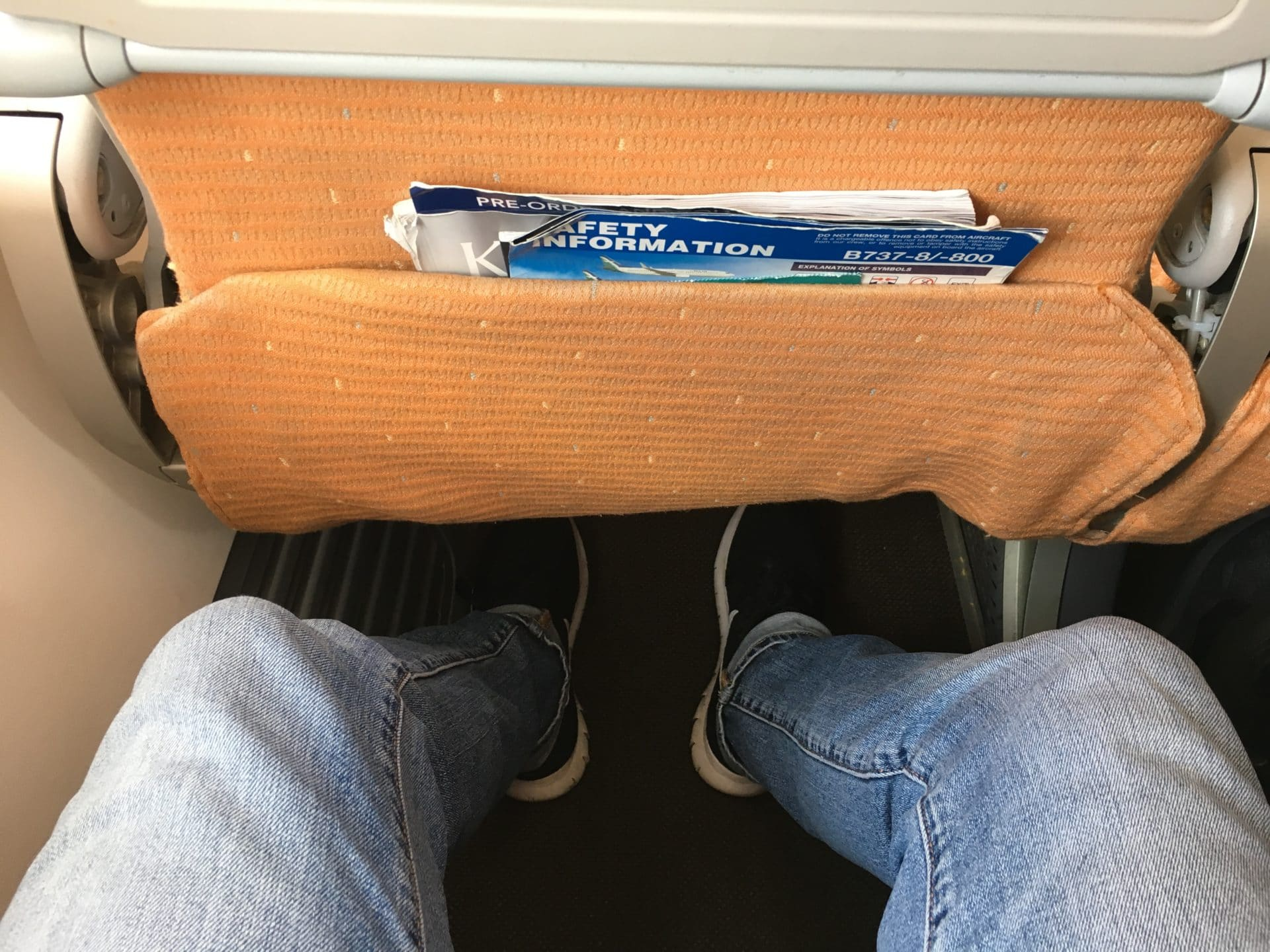 Silk Air Economy Class Kurzstrecke Sitzabstand 2