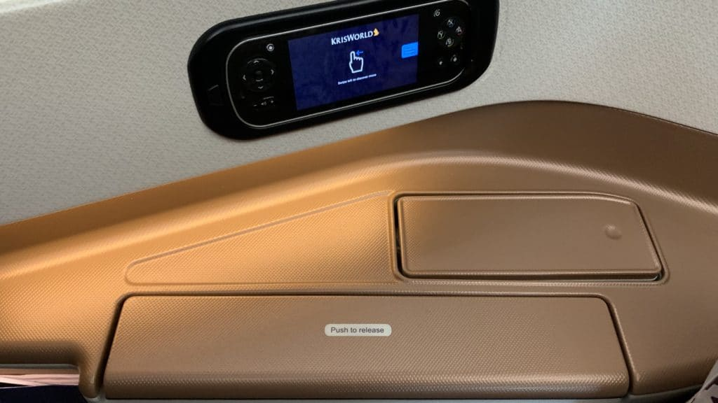 Singapore Airlines Business Class Airbus A350 Ablage 1