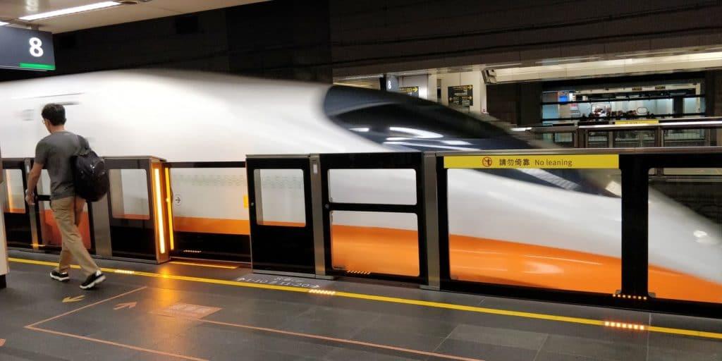 Taiwan Schnellzug