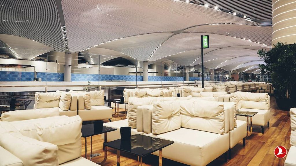 Turkish Airlines New Lounge 3