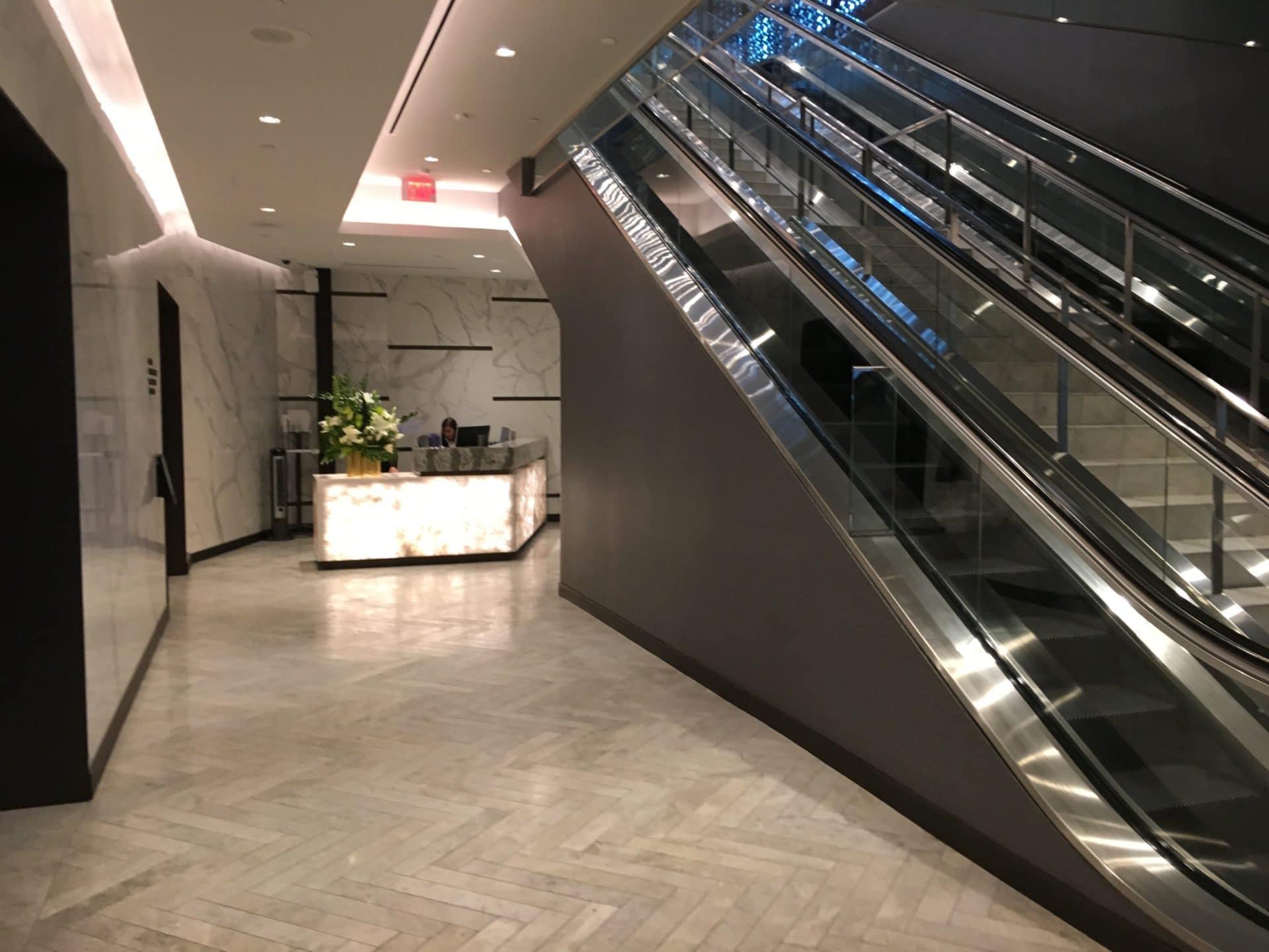 United Polaris Lounge San Francisco Eingangsbereich 2