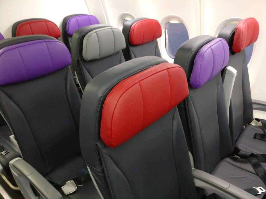 Virgin Australia Economy Class Boeing 737