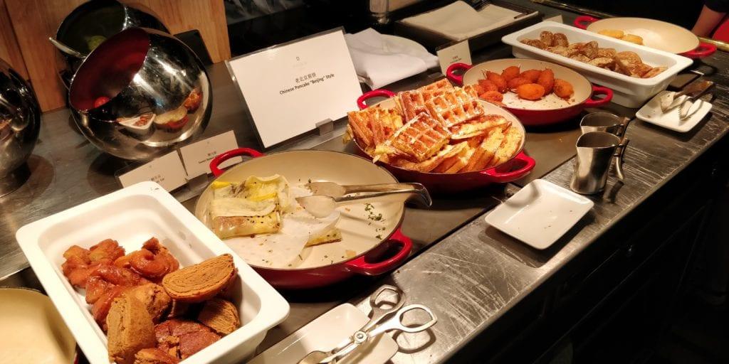 Waldorf Astoria Peking Frühstück